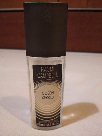 Dezodorant w atomizerze, 75 ml, Queeen of gold Naomi Campbell