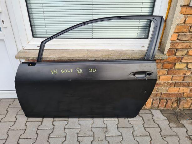 DRZWI przednie lewe VW GOLF VII 7 3D 3 drzwi ORYGINAŁ