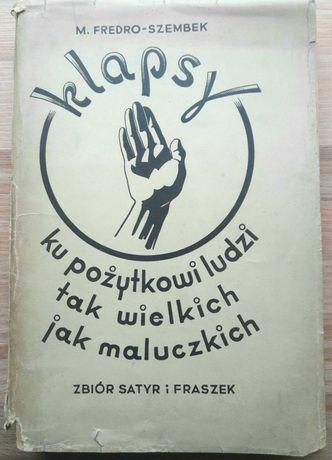 """Maria Fredro Szembek """"Klapsy"""" Kępno Siemianice Lwów fraszki"""