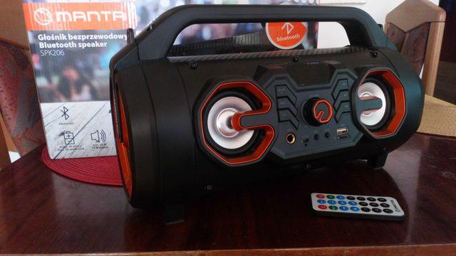 Głośnik Przenośny Manta SPK206 Bluetooth