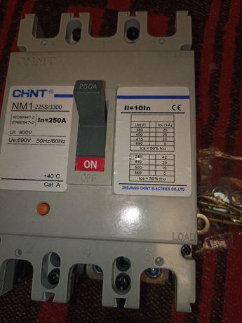 Автомат. выключатель 250 А. 3 Ф.