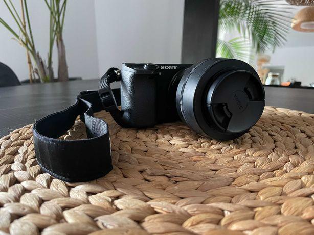 Aparat Sony a6300 Sigma jasny obiektyw 30 mm 1.4, ubezpieczenie 2023r.