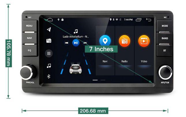 Radio nawigacja Mitsubishi ASX Outlander Lancer L200 Pajero Android BT