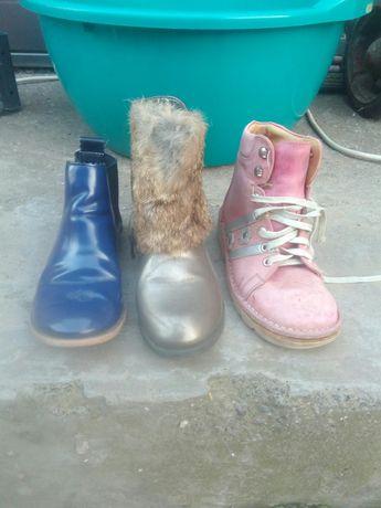 Ботинки 34-35 рр