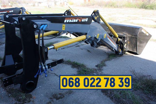 Погрузчик на трактор МТЗ, ЮМЗ, Т 40 с ковшом 0.9 м3 - Марвэл 2200
