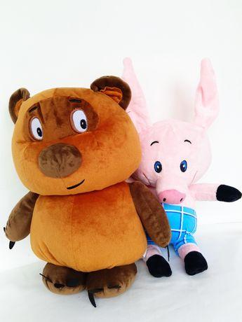 Мягкая игрушка Винни- Пух, Пятачок