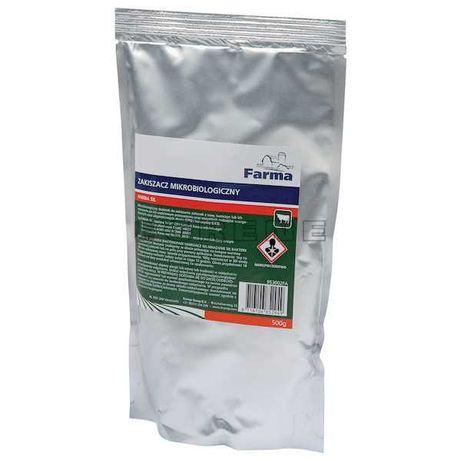 Zakiszacz Farma Sil 500g, 100 g kiszonki- ogranicza straty w kiszonce