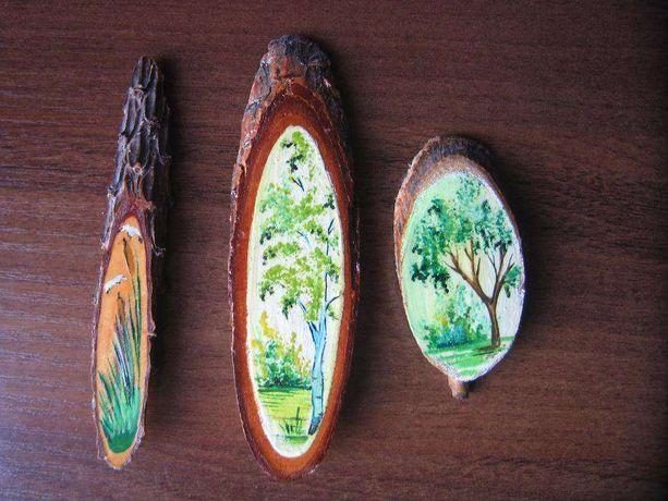 Спил деревянный, поделки, ручная работа, сувенир