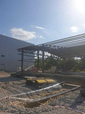 Konstrukcja stalowa hala używana 600 m2 cena Brutto