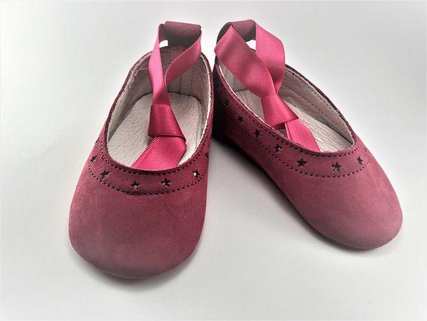 Sapatos Balancê Dancing Rosa