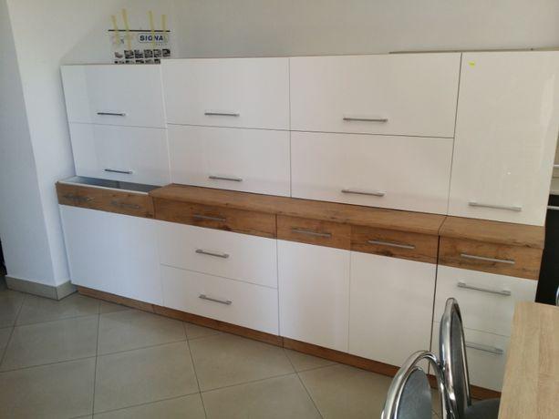 Kuchnia meble kuchenne 280cm, zestaw kuchenny, front połysk, transport