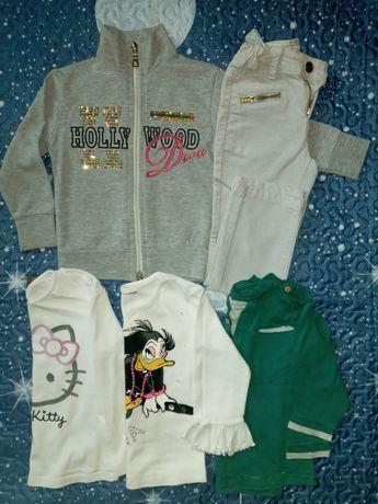 Одяг для дівчинки 3-4 рочки