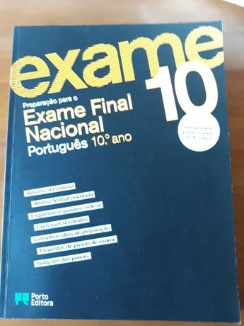 Preparação Exame Final Nacional, Português, 10o ano, Porto Editora
