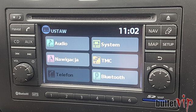 Nissan LCN1 Nawigacja Polskie Menu Lektor Najnowsza Mapa Europy