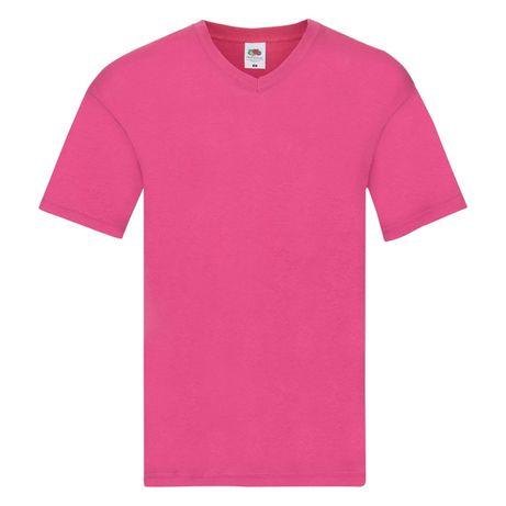 T-shirt męski w szpic FRUIT OF THE LOOM rozmiar L