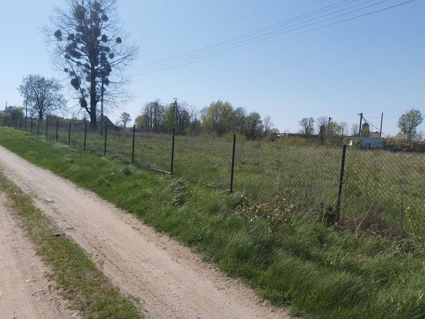 Ogrodzona działka budowlana na sprzedaż w Goleszynie