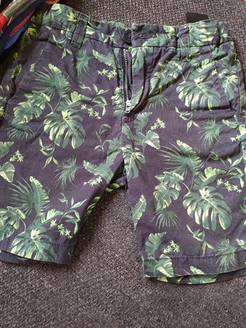 Spodenki spodnie krótkie spodenki 104 H&M Lupilu zestaw dla chłopczyka