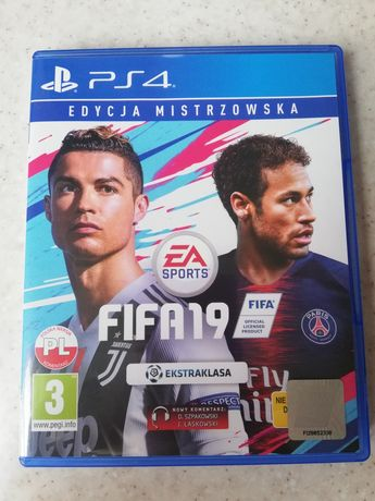 FIFA 19 edycja mistrzowska PS4!!!
