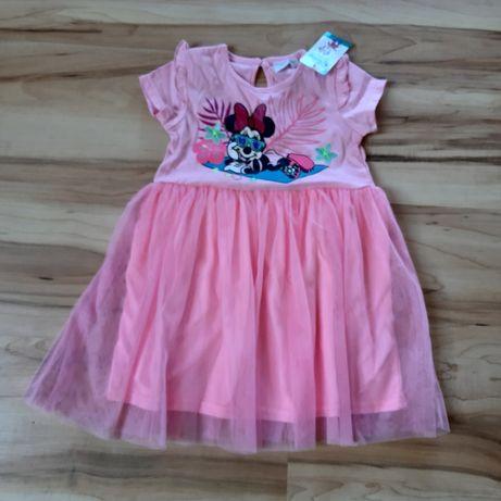 Nowa sukienka z Myszką Miki 92