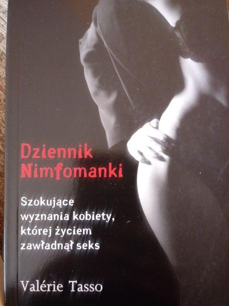 Książki Wśród celebrytów i Dziennik nimfomanki kpl