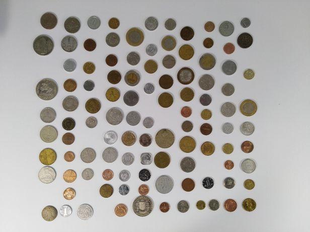 Монеты коллекционные 107 шт.