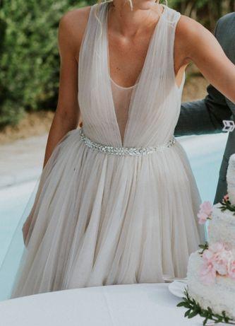 Suknia ślubna + długi welon * Inna niż wszystkie :)