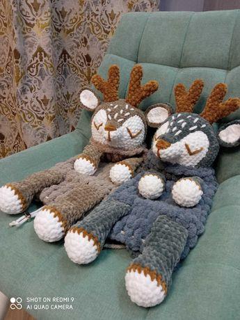 Пижамница оленёнок.  Мягкая игрушка