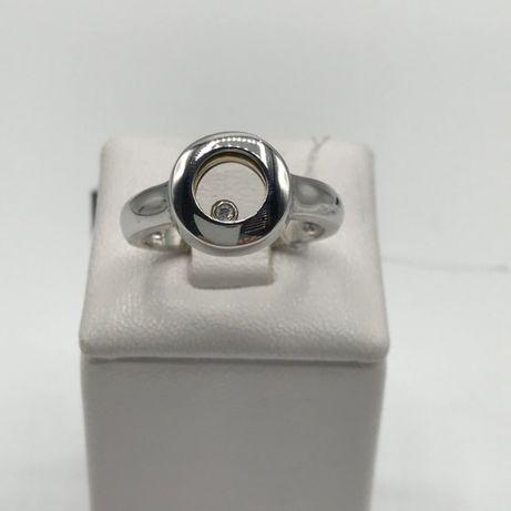 Золото серьги и кольцо Chopard (набор) золото сережки каблучка