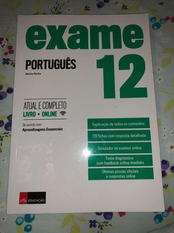 Livro para preparação de exame Português 2021