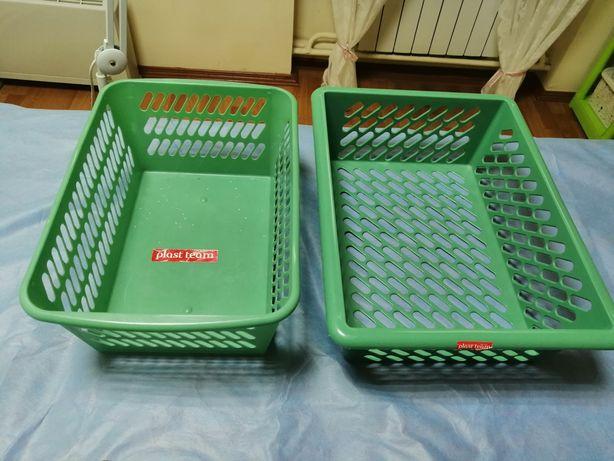 Корзинка пластиковая,ящик,контейнер plast team.