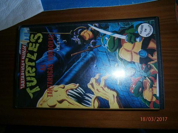 Tartarugas Ninja VHS