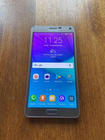 Samsung Galaxy Note 4 32GB duży zestaw