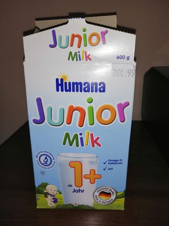 Суміш Humana Junior Milk 1+ 300 г Хумана Джуніор Смесь