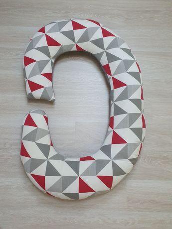 Duża poduszka ciążowa typu C rogal
