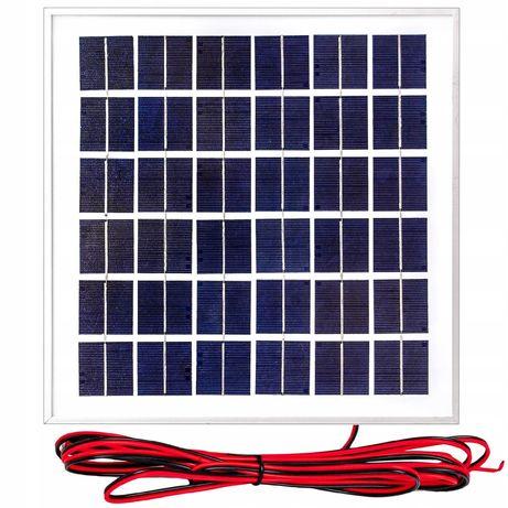 Panele fotowoltaiczne bateria słoneczna 10W 12V regulator (SOL48)