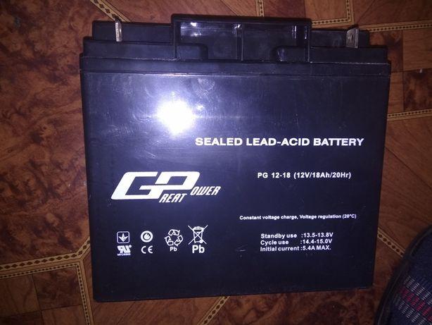 Аккумуляторная батарея ( 12В 13.5-13.8В) Great Power PG 12-18