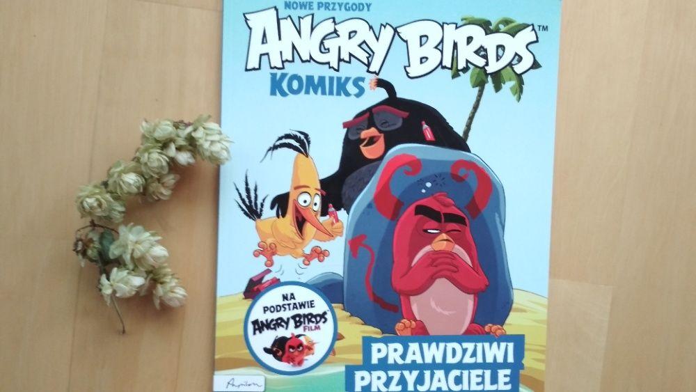komiks Nowe Przygody Angry Birds Prawdziwi Przyjaciele Poznań - image 1
