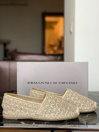 Красивейшие эспадрильи Ermanno Scervino оригинал (hermes, gucci)
