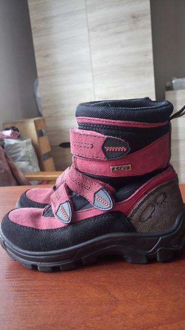 Buciki dziewczęce firmy Bartek, rozmiar 28, długość wkładki 18 cm