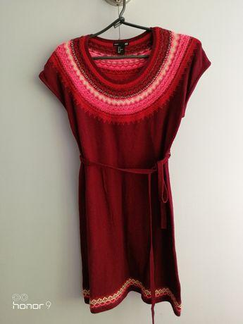Zimowa sukienka ciążowa h&m 36 S