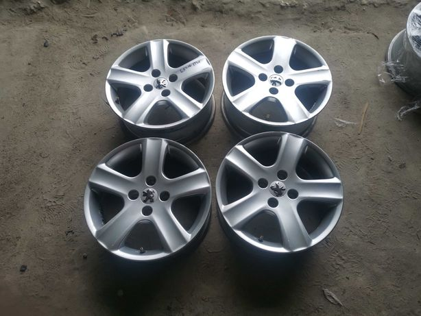 Felgi aluminiowe Peugeot 4x108 Peugeot 6,5Jx16 et 31