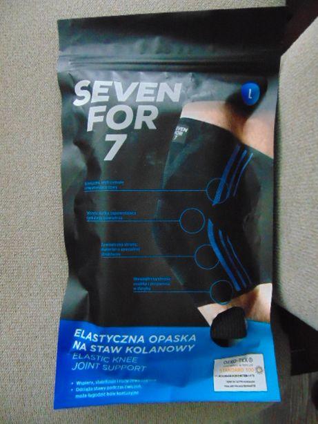 Opaska elastyczna na staw kolanowy XL,L Seven For 7