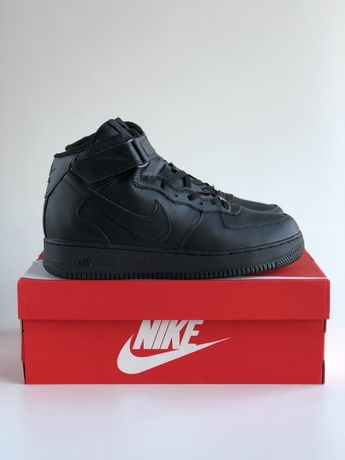 Nike Air Force 1 Black winter z futrem roz.40-45