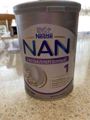 Смесь детская NAN гипоаллергенная 1, 500 руб