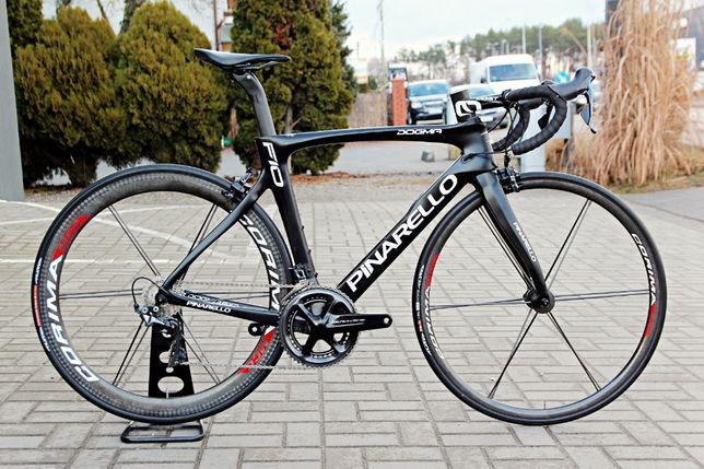 Rower szosowy PINARELLO DOGMA F10 Dura Ace 9100, koła Corima, roz. 53