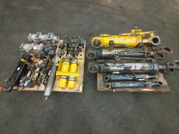 komatsu wa 470-5 siłowniki rozdzielacz pompa komplet hydrauliki