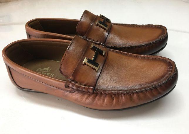 Hermes buty- mokasyny męskie