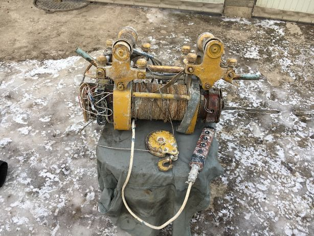 Продам Таль тельфер электрическая Таль электрическая ТЭ 500 кг СССР