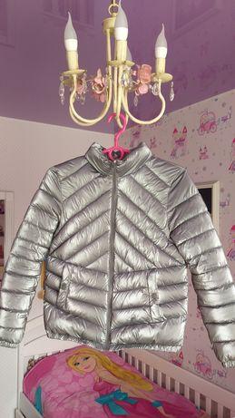 Шикарная деми курточка Zara на 11-12 лет состояние новой