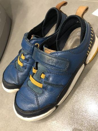 Кожаные туфли кроссовки Clark's